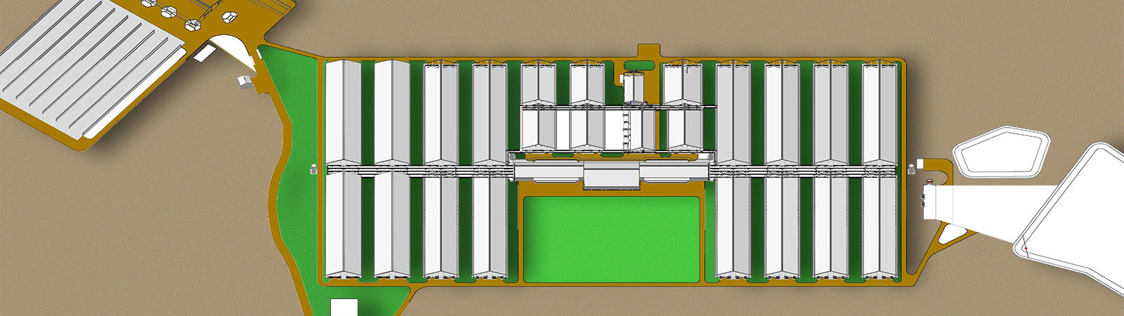 rendering of facility layout